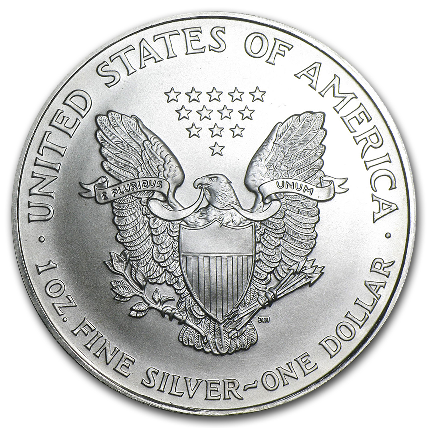 1997 1 oz Silver American Eagle (Brilliant Uncirculated)